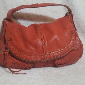 Lucky Brand 'Stash' Lambskin Leather Hobo